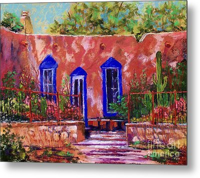 New Mexico Garden Metal Print by Bruce Schrader