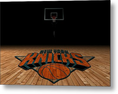 New York Knicks Metal Print by Joe Hamilton