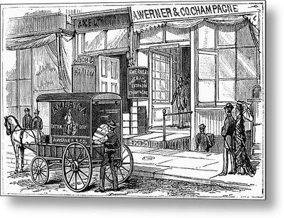 New York Wine Industry Metal Print by Granger
