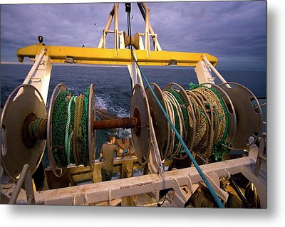 Night Trawler Metal Print by Andrew Wheeler