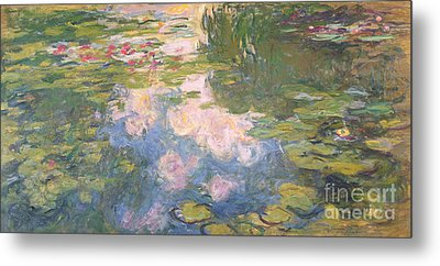 Nympheas Metal Print by Claude Monet
