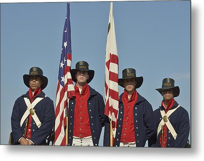 Honor Guard  Metal Print by Marianne Campolongo