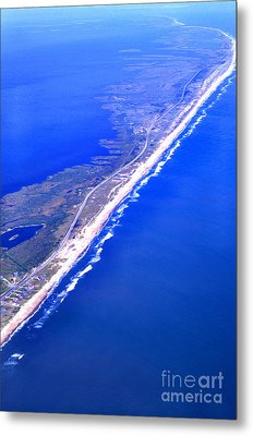 Outer Banks Aerial Metal Print by Thomas R Fletcher