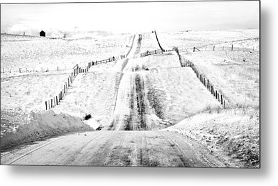 Over The Hill And Far Away Metal Print by Theresa Tahara