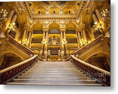 Palais Garnier Metal Print by Brian Jannsen