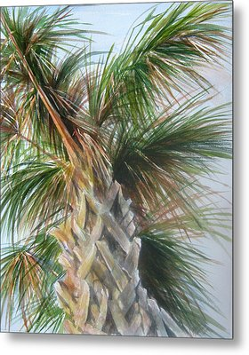 Metal Print featuring the painting Palmetto 2011 by Gloria Turner