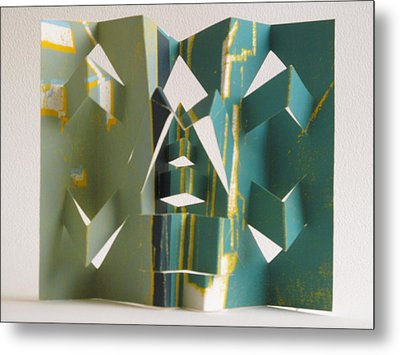 Paper Architecture Metal Print by Alfred Ng