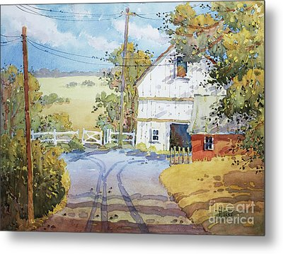Peaceful In Pennsylvania Metal Print