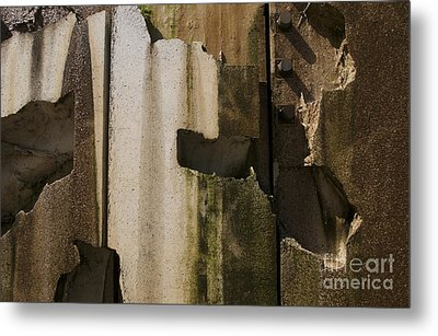 Metal Print featuring the photograph 3 Pegs Abstract IIi by Sherry Davis