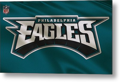Philadelphia Eagles Uniform Metal Print by Joe Hamilton
