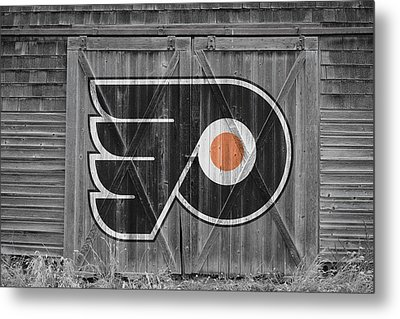 Philadelphia Flyers Metal Print by Joe Hamilton