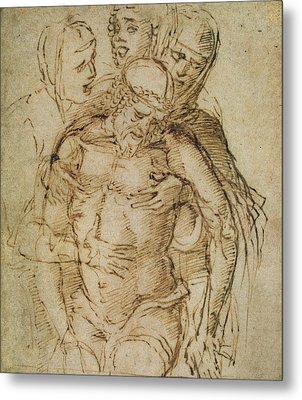 Pieta Metal Print by Italian School