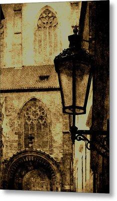 Prague - Old Town Metal Print by Ludek Sagi Lukac