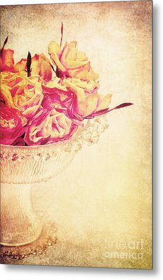 Romance Metal Print by Angela Doelling AD DESIGN Photo and PhotoArt