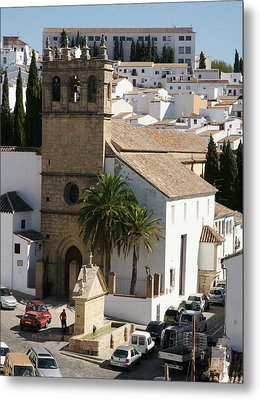Metal Print featuring the photograph Ronda by Christian Zesewitz