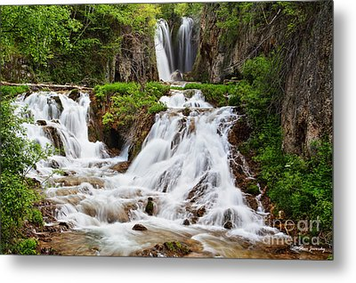 Roughlock Falls Metal Print