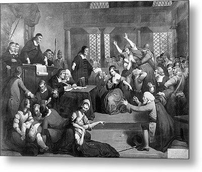 Salem Witch Trials, 1692 Metal Print by Granger