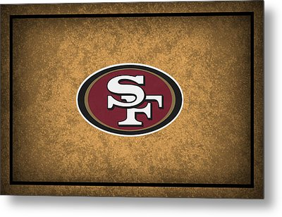San Francisco 49ers Metal Print by Joe Hamilton