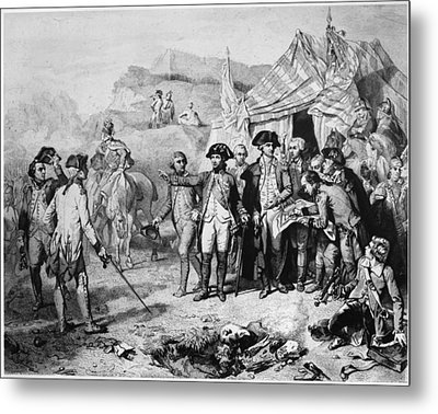 Siege Of Yorktown, 1781 Metal Print by Granger