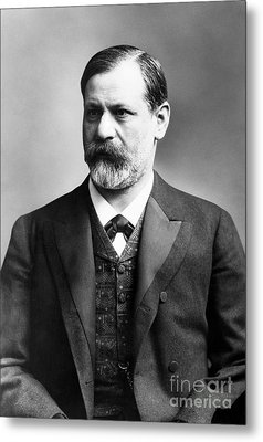 Sigmund Freud (1856-1939) Metal Print by Granger