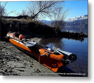 Metal Print featuring the photograph Skaha Lake Calm by Guy Hoffman