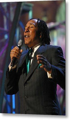 Metal Print featuring the photograph Smokey Robinson by Don Olea