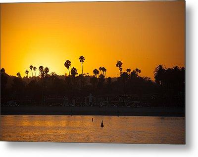 Sunset Santa Barbara Metal Print by Ralf Kaiser