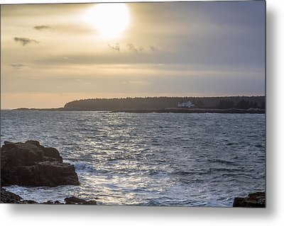 Metal Print featuring the photograph Sunset Schoodic Peninsula by Trace Kittrell