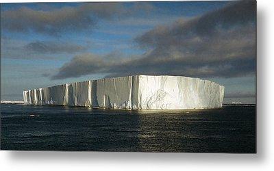 Tabular Iceberg Antarctica Metal Print by Carole-Anne Fooks