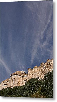 Tarquinia The Walls And The Apse Metal Print