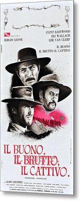 The Good, The Bad, And The Ugly Aka Il Metal Print by Everett