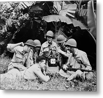 The Greatest Generation Metal Print