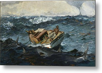 The Gulf Stream Metal Print by Philip Ralley
