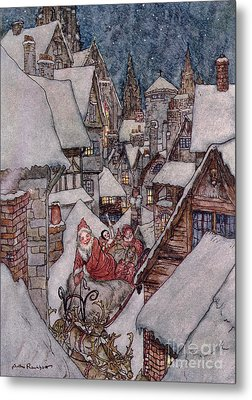'the Night Before Christmas Metal Print