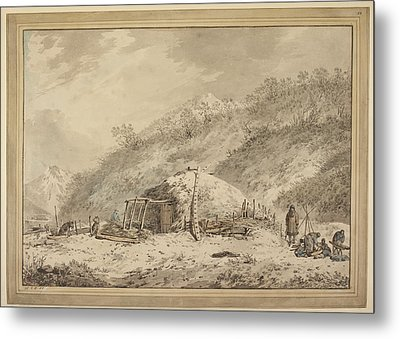The Third Voyage Of Captain Cook Metal Print