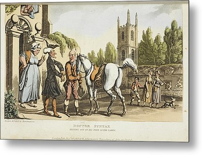 The Tour Of Doctor Syntax Metal Print