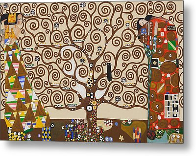 The Tree Of Life Metal Print by Celestial Images