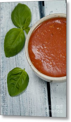 Tomato Soup Metal Print by Mythja  Photography