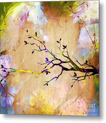 Tree Branch Collection Metal Print by Marvin Blaine