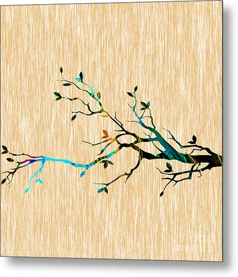 Tree Branch Metal Print by Marvin Blaine