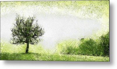 Tree Metal Print by Odon Czintos
