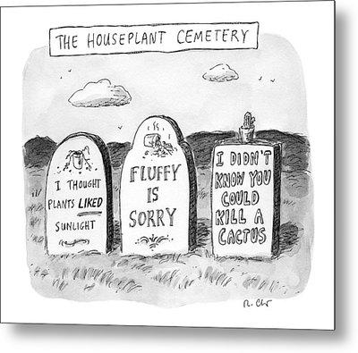 New Yorker December 19th, 2016 Metal Print