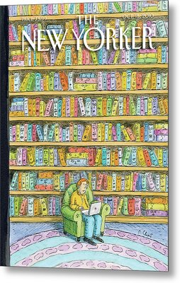 New Yorker October 18th, 2010 Metal Print by Roz Chast