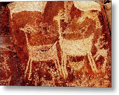 Usa, California, Little Petroglyph Metal Print by Jaynes Gallery