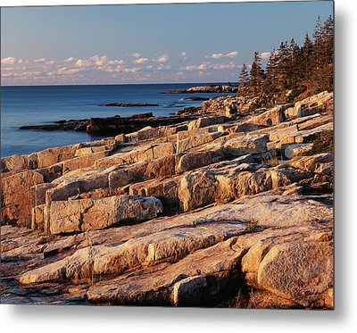 Usa, Maine, Acadia National Park, Mt Metal Print by Adam Jones