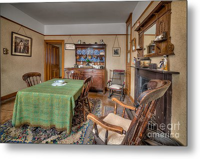 Victorian Cottage  Metal Print by Adrian Evans
