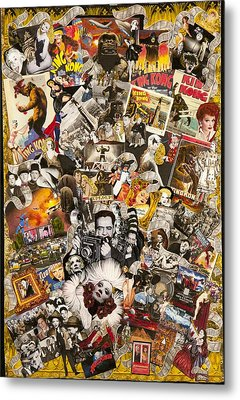 Vintage Hollywood Collection Metal Print