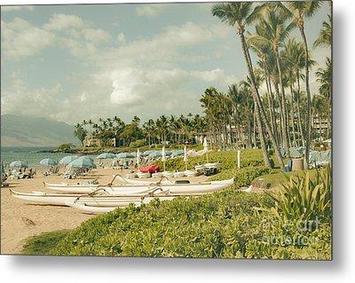 Wailea Beach Maui Hawaii Metal Print