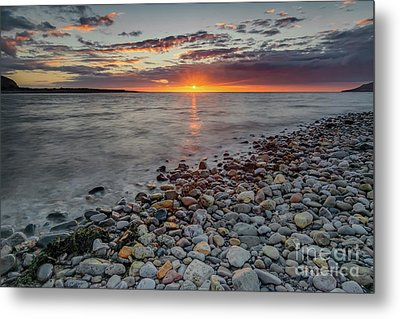 Welsh Sunset Metal Print