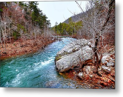 Metal Print featuring the photograph White's Creek by Paul Mashburn